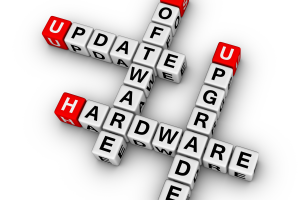 Software updates and hardware upgrades