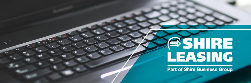 Shire Leasing keyboard logo