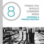 Things to consider when choosing a finance partner