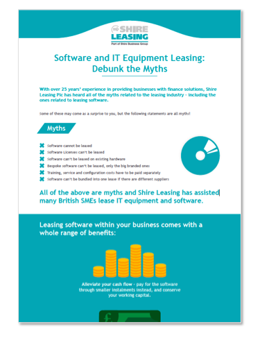 Software and IT equipment leasing myths