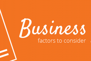 Business plan: Factors to consider