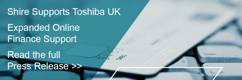 Shire Leasing and Toshiba press release